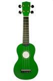 Ukulele verde Imagen de archivo libre de regalías