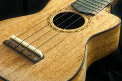 Ukulele wooden. Royalty Free Stock Photos