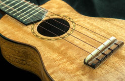 Ukulele wooden. Stock Photo