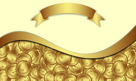 ukuwać nazwę dolarowego euro złoto Zdjęcie Royalty Free