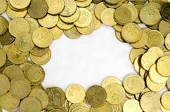 ukuwać nazwę dolarowego euro złoto Fotografia Royalty Free