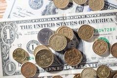 ukuwać nazwę dolary zdjęcia royalty free