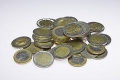 ukuwać nazwę euro Zdjęcia Royalty Free