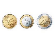 ukuwać nazwę euro Fotografia Royalty Free