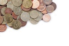 ukuwać nazwę euro pieniądze Zdjęcia Royalty Free