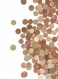 ukuwać nazwę euro pieniądze Fotografia Royalty Free