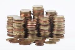 ukuwać nazwę euro pieniądze Zdjęcie Stock