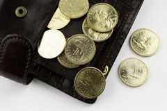 ukuwać nazwę portfel obraz royalty free