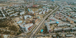 Ulán Udé, Buriatia, Rusia fotografía de archivo