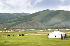Ulaanbaatar的,蒙古Gorkhi-Terelj国家公园 图库摄影