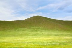 Ulaanbaatar的,蒙古Gorkhi-Terelj国家公园 免版税库存照片