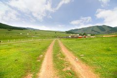 Ulaanbaatar的,蒙古Gorkhi-Terelj国家公园 免版税库存图片