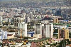 Ulaanbaatar,蒙古 免版税库存图片