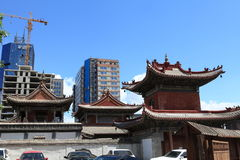 Ulaanbaatar Choijin Lama Monastery Royalty Free Stock Photo