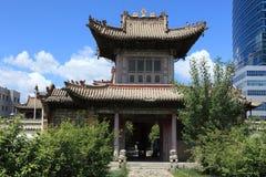 Ulaanbaatar Choijin Lama Monastery Royalty Free Stock Image