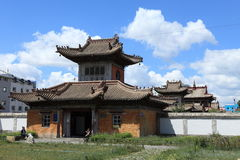 Ulaanbaatar Choijin Lama Monastery Stock Photos