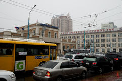 ULAANBAATAR, MONGÓLIA - 11 DE MAIO DE 2012: Imagem de Stock