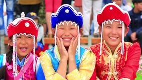 ULAANBAATAR, MONGOLIA - JULY 2013: Naadam Festival Celebration Stock Image