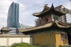 Ulaanbaatar Mongoliet Arkivbilder