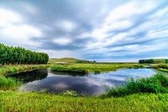 Ulagai stepu region Fotografia Royalty Free