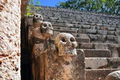 Ulama - Mesoamerican ballgame field Stock Image