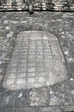Ulama - Mesoamerican ballgamegebied royalty-vrije stock foto's