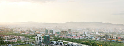 Ulan Bator- de hoofdstad van Mongolië Royalty-vrije Stock Foto's