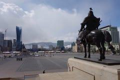 Ulan Bator eller Ulaanbataar, Mongoliet Arkivbilder