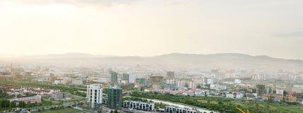 Ulan Bator- il capitale della Mongolia Fotografie Stock Libere da Diritti