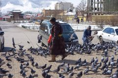 Ulan Bator or Ulaanbataar, Mongolia Stock Photography