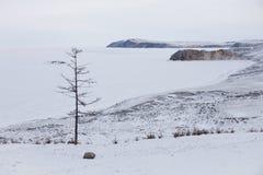 Ulan Hushinsky Gulf, Lake Baikal. Olkhon island Stock Photos