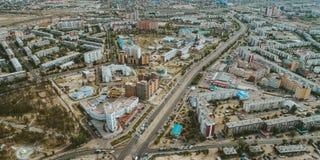 Ulan-Ude, Buryatia, Rusland stock fotografie
