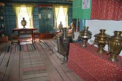 Ulan-Ude, Buryatia, Rusland, 12 April, 2014 Etnografisch Museum van de volkeren van Transbaikali? stock afbeelding