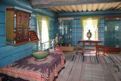 Ulan-Ude Buryatia, Ryssland, April 12, 2014 Ethnographic museum av folket av Transbaikalia royaltyfria foton