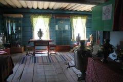 Ulan-Ude Buryatia, Ryssland, April 12, 2014 Ethnographic museum av folket av Transbaikalia royaltyfri bild