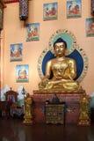 Ulan-Ude Ryssland, 03 15 Buddhastaty 2019 i en buddistisk kyrka Rinpoche Bagsha fotografering för bildbyråer