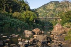 Ulapane mosta durnia ` s most, Sri Lanka Zdjęcie Royalty Free