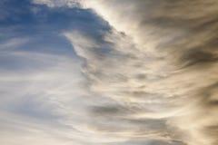 Ulewa rusza się niebo zdjęcia royalty free