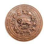 ulga podpisuje rocznika zodiaka Obraz Royalty Free