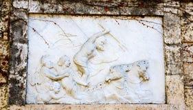 Ulga Poseidon w ogródach labitynt Horta Zdjęcie Royalty Free