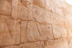 Ulga przy świątynią Karnak Egipt Obrazy Royalty Free