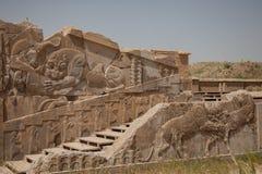 Ulga przy persepolis, Iran zdjęcia stock