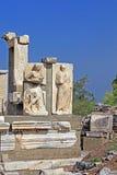 Ulga w Ephesus Starożytnego Grka miasto na wybrzeżu Ionia blisko Selcuk Obraz Stock