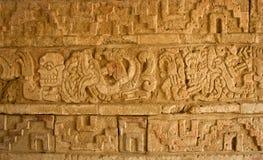 Ulga w Tula, Mesoamerican archeologiczny miejsce, Meksyk zdjęcia royalty free