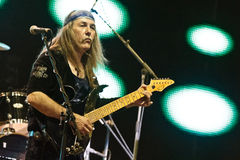 Uli Jon Roth - Belgrade BeerFest 2011. Stock Photos