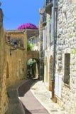 ulica śródziemnomorskiej zdjęcie stock