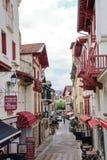 Ulica Święty Cajg De Luz Zdjęcie Stock