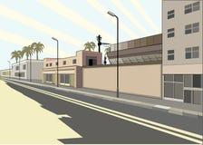 ulica royalty ilustracja