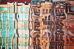 ulica abstrakcyjna Obraz Royalty Free