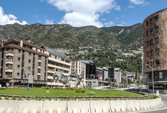 Ulica Andorra Zdjęcia Stock